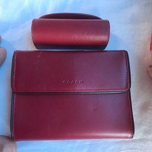 COACH Wallet/ 💄 mirror set. Near MINT ❤️